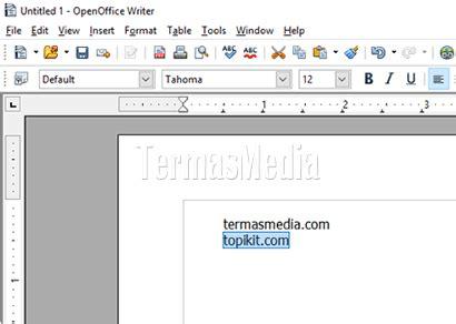 cara membuat hyperlink secara singkat cara membuat hyperlink link secara manual di openoffice