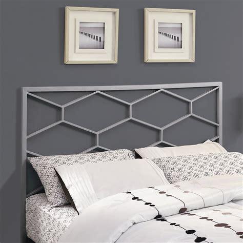 shop monarch specialties silver headboard at
