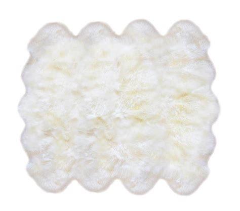 10 Pelt Sheepskin Rug - fibre by auskin sheepskin rugs 8 pelt premium ivory