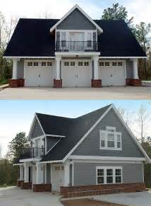 House Garage Plans by Duty 3 Car Garage Cottage W Living Quarters Hq