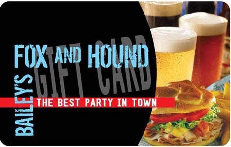 Fox Restaurants Gift Card - fox and hound gift cards bulk fulfillment order online buy