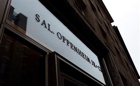 bankhaus le banking nach weggang vom berliner standortleiter sal oppenheim