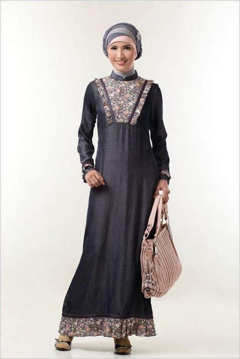 Gamis Modern 9 model baju batik gamis kombinasi terbaru model baju