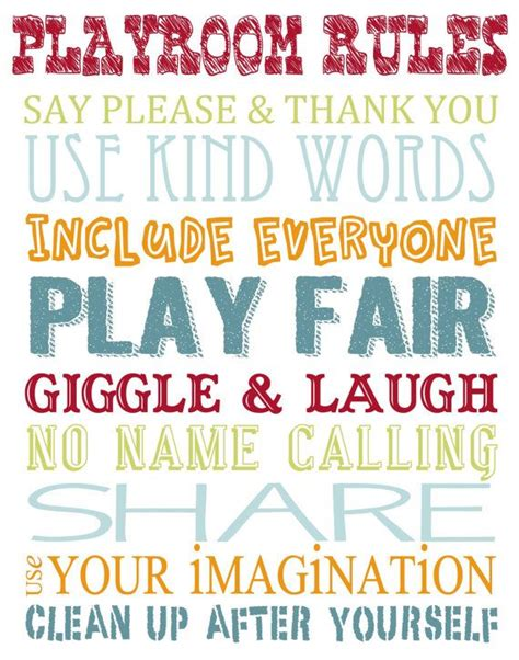 free printable playroom wall art printable playroom rules wall art by simplyannouncing