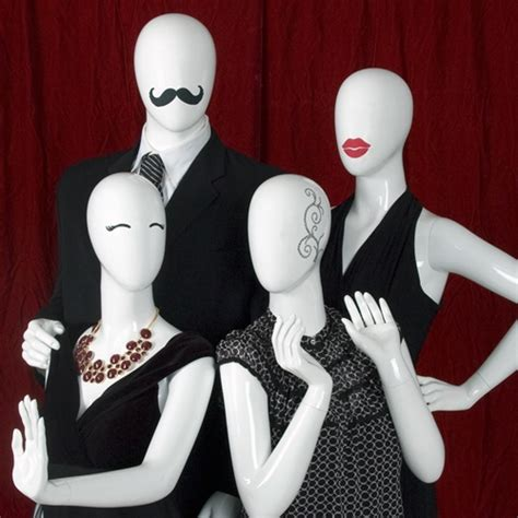 time   creative  mannequins retail design