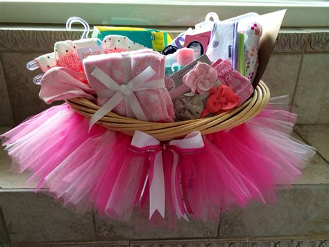 Baby Shower Basket Gifts by Baby Shower Tutu Gift Basket Diy From My Craft Room