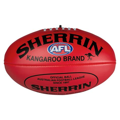 Home Decor Au by Sherrin Red Soft Touch Footy Afl Store