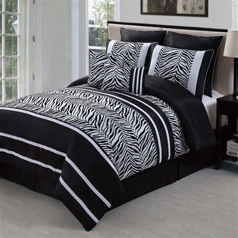 laken zebra comforter set
