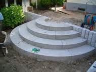 palisaden treppen treppen und palisaden