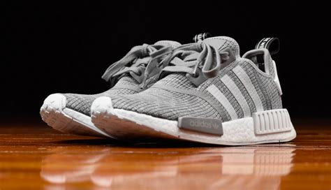 Adidas Nmd R1 Primeknit Glitch Pack Grey Authentic 1 the adidas nmd r1 glitch camo solid grey is now available kicksonfire
