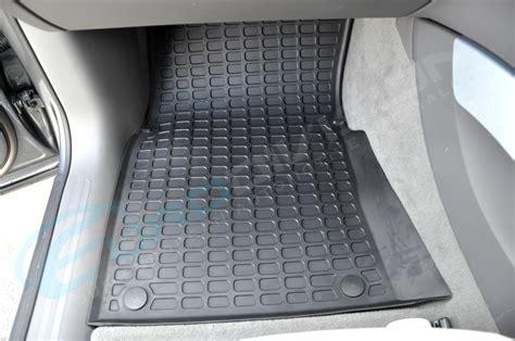audi q5 rubber floor car interior mats black rhd 8r tdi fsi tfsi quattro stronic ebay