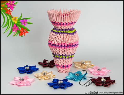 3d Origami Vase Tutorial - origami 3d vase tutorial mikaglo new