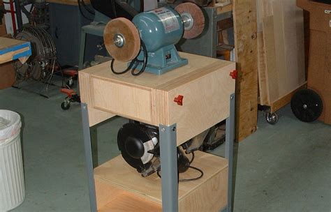 how to make a bench grinder stand new dual grinder stand by aloysius lumberjocks com woodworking community