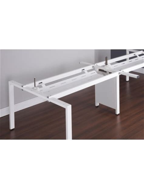 Cable Tray Desk by Adapt Ii Bench Office Desks