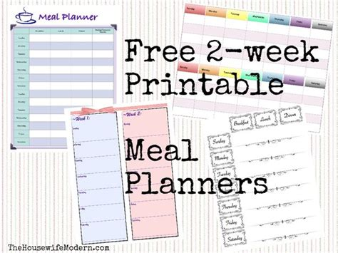 two week meal planner template 28 images clean meal