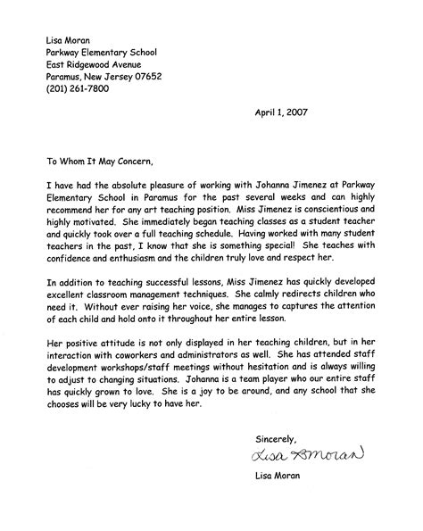 9 sample recommendation letter for student quote templates