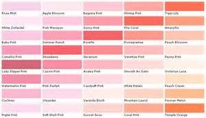 pink color chart martin senour paints martin senour colors martin