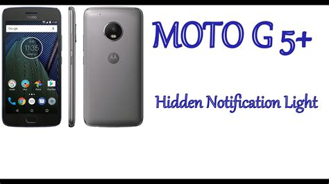 how to on notification light in moto g4 plus moto g5 plus hidden led notification light youtube