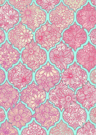 Selimut Patchwork Motif Purple Flower pink blue flower paisley wallpaper flower