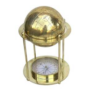 the brass compass buy solid brass globe standing compass 8 inch nautical