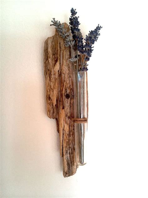 Driftwood Wall Sconce Driftwood Console Table Entry Traditional With Candle