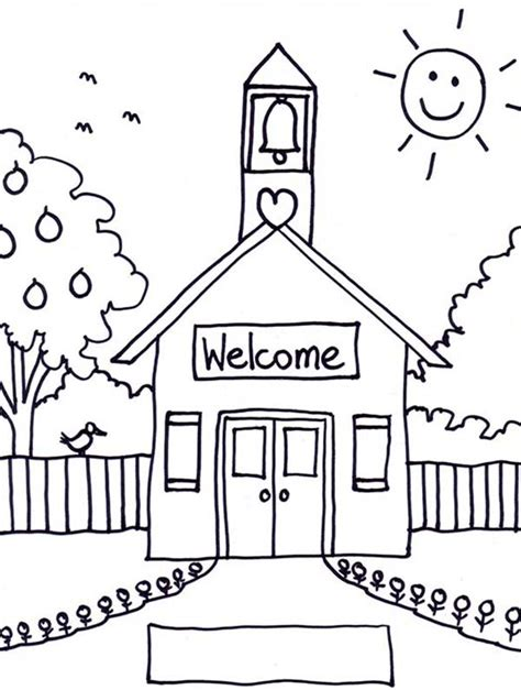 free coloring pages of school houses back to school coloring pages best coloring pages for kids