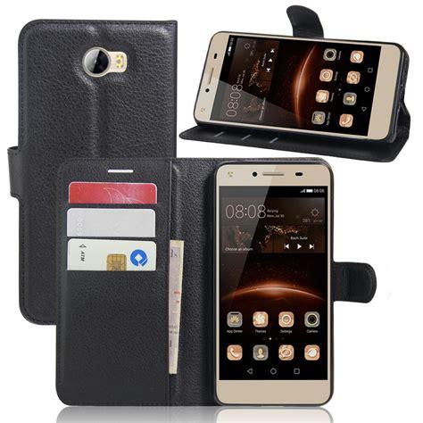 Walet 2 In 2 luxury phone funda for huawei y5 2 huawei y5 ii lte coques flip cover wallet leather bags