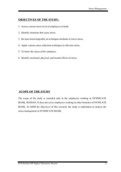 Essay About Stress Management by Stress Management Essay