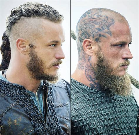 ragnar hair style professional transformation of ragnar vikings pinterest