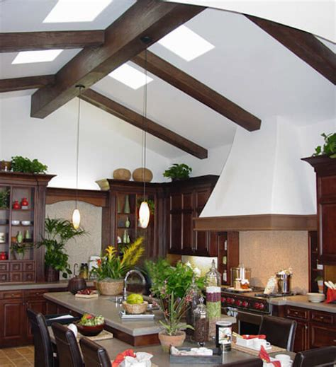 White Stain Kitchen Cabinets 15 faux wood ceiling beam ideas photos