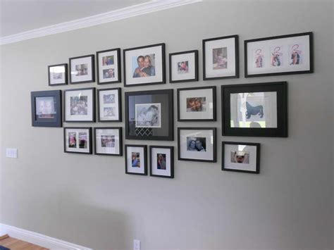 design photo wall photo frame ideas hallway pinterest