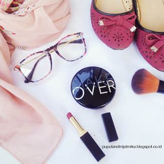 Bedak Asli Makeover review make cover two way cake puput
