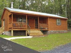 log cabin modular homes frontier log cabin manufactured in pa cozy cabins