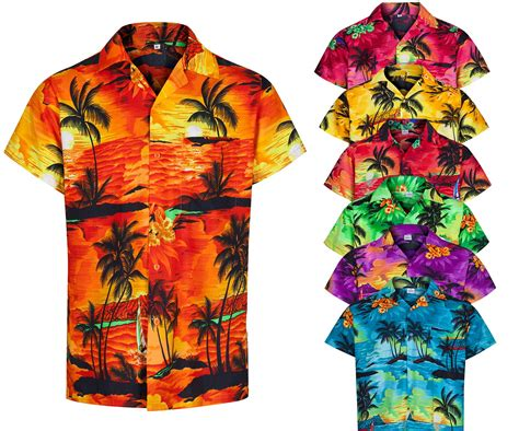 christmas themed clothing uk mens hawaiian shirt aloha themed party shirt holiday beach