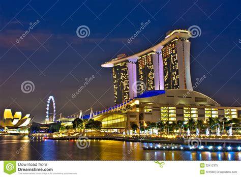 famous boat hotel singapore landmarks of singapore marina bay sands royalty free