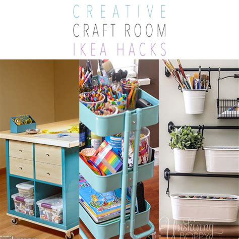 ikea hack craft room creative craft room ikea hacks the cottage market