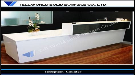 Front Desk Counter by Office Furniture With Hutch Front Desk Counters Design