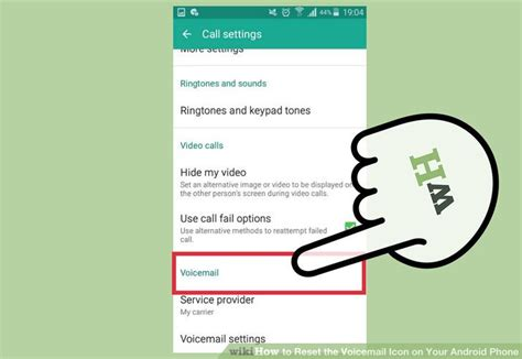 how to change voicemail on android how to reset the voicemail icon on your android phone 14 steps