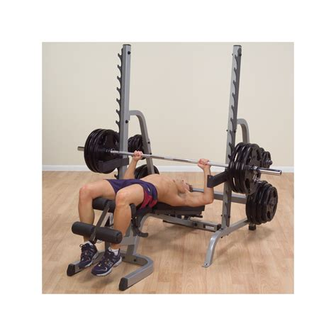 body solid combo bench body solid sdib370 olympic bench rack combo
