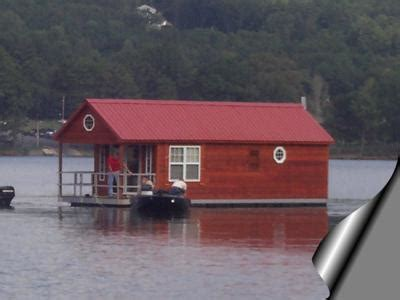 buy house boat build or buy a small pontoon floating houseboat