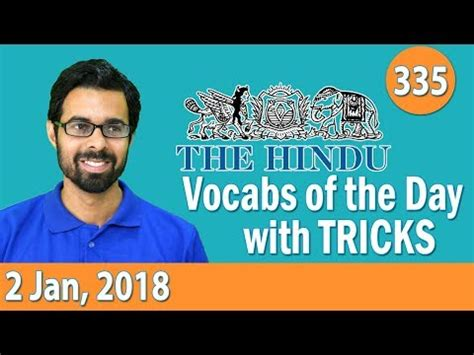 payload xl youtube januari 2018 8 00 am daily the hindu vocabulary with tricks 2nd jan