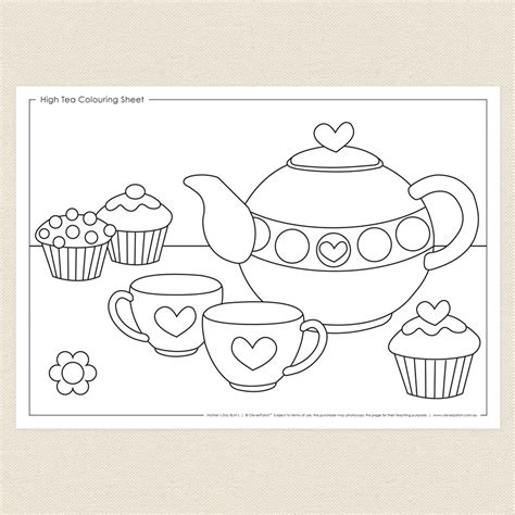 tea coloring pages 49 tea coloring pages tea coloring pages