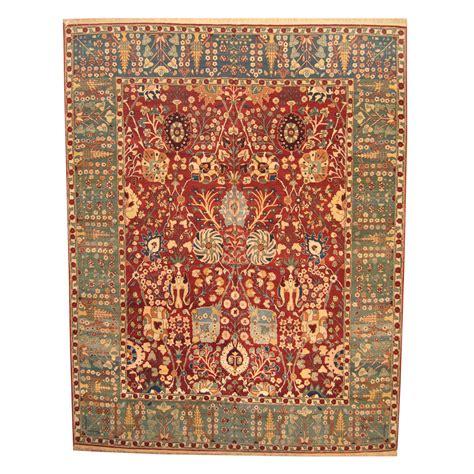 vegetable dye rugs indo knotted vegetable dye oushak wool rug 12 x 15