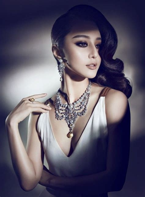 chinese actress fan bing bing for cartier ads people