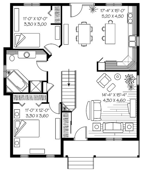 simple bungalow floor plans 301 moved permanently