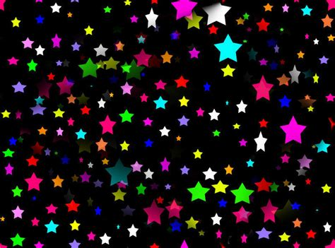 colorful wallpaper with stars august 2012 colorful background wallpapers