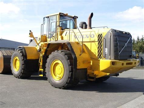 volvo l 350 f wheel loader from germany for sale at truck1