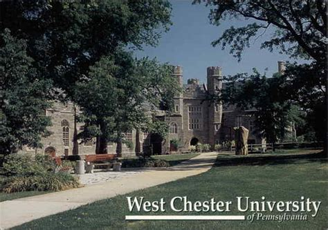 West Chester Of Pennsylvania Mba by West Chester Philips Memorial Building