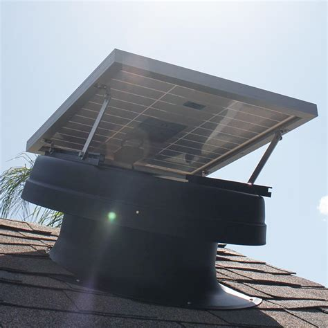 solar powered attic fan solar attic fans valleywide installation elite