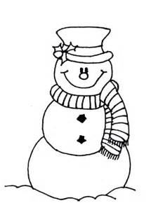 snowman christmas coloring pages to print for your kids